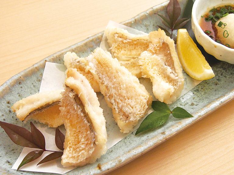 甘鯛のパリパリ唐揚げおろしポン酢