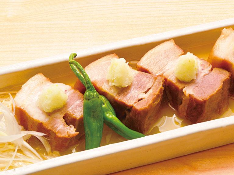 豚の白炊き角煮